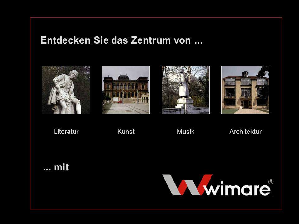 Wir über uns Firmengründung:1990 als 1.private Incoming-Agentur Weimars Inhaberin:Dipl.-Ing.