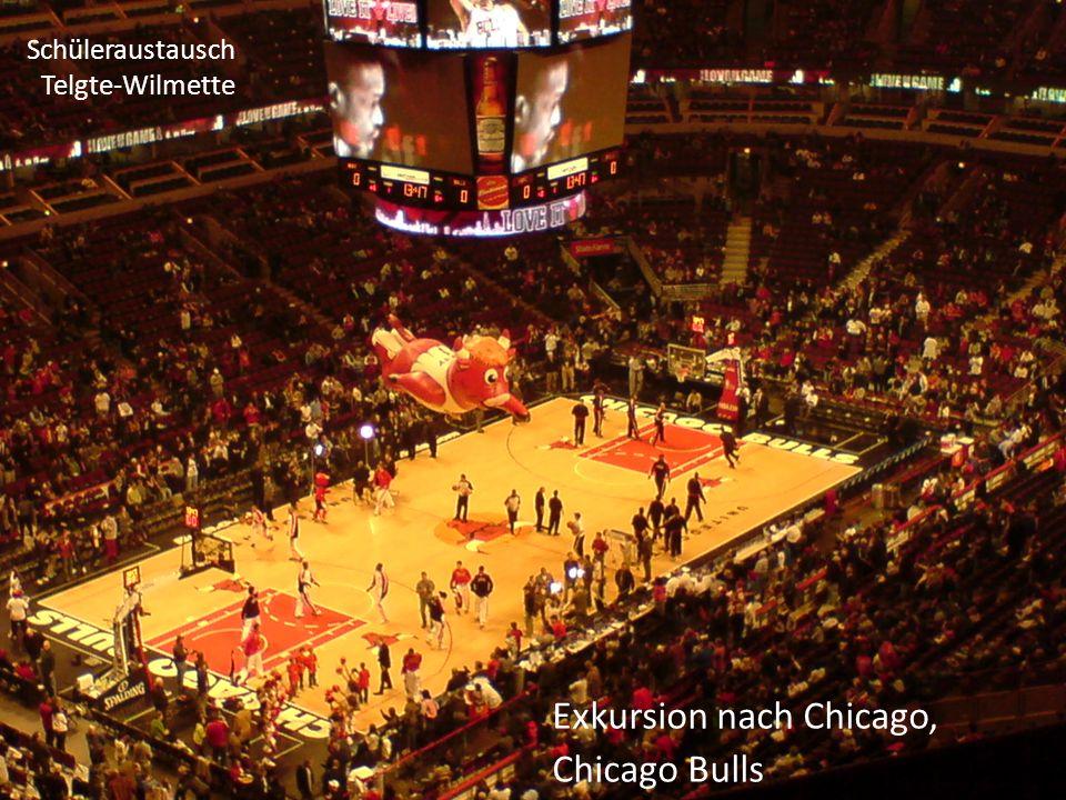 Schüleraustausch Telgte-Wilmette Exkursion Downtown Chicago, Millenium Park