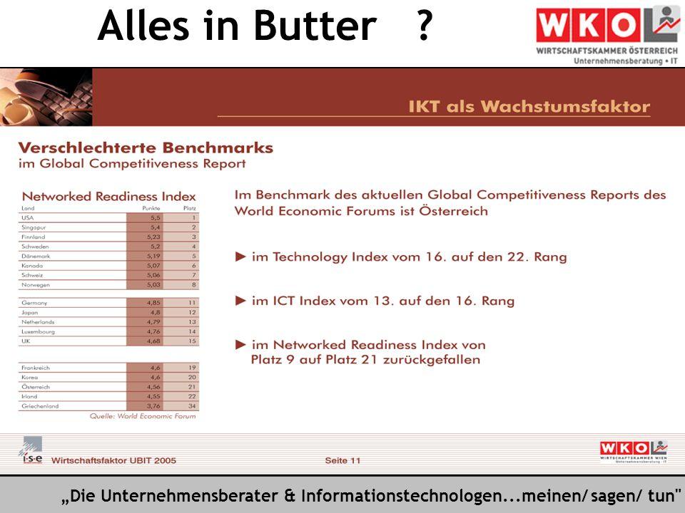 Die Unternehmensberater & Informationstechnologen...meinen/ sagen/ tun