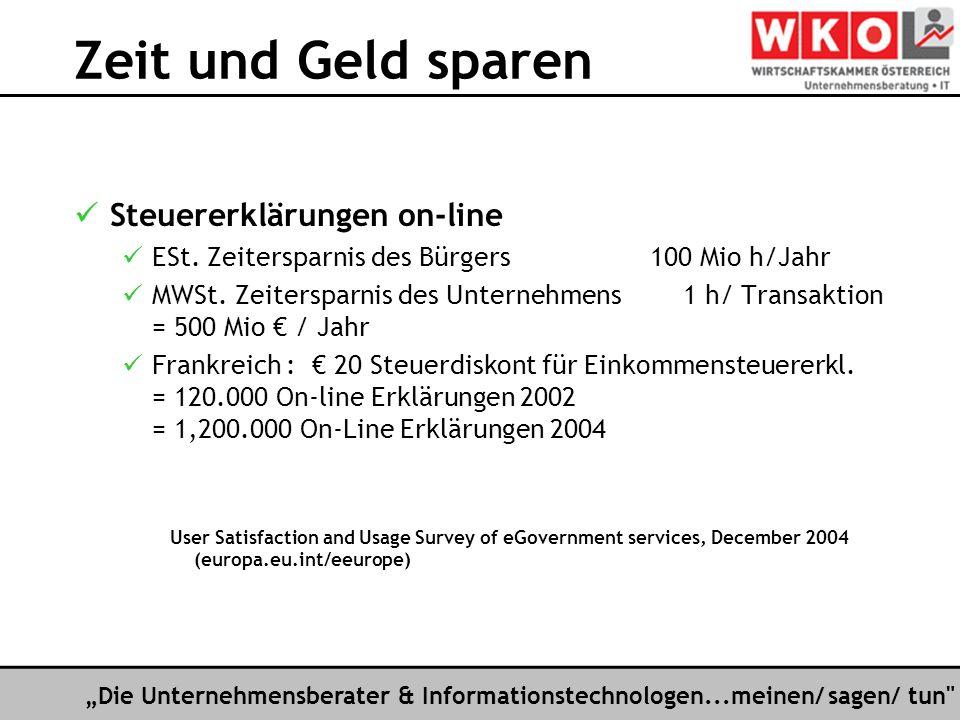 Die Unternehmensberater & Informationstechnologen...meinen/ sagen/ tun Das E-Government-Puzzle PolitikRechtTechnik Bund Länder Gemeinden Bürger Wirtsch.