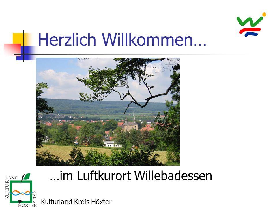 Herzlich Willkommen… …im Luftkurort Willebadessen Kulturland Kreis Höxter