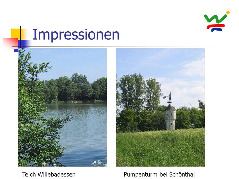 Impressionen Pumpenturm bei SchönthalTeich Willebadessen