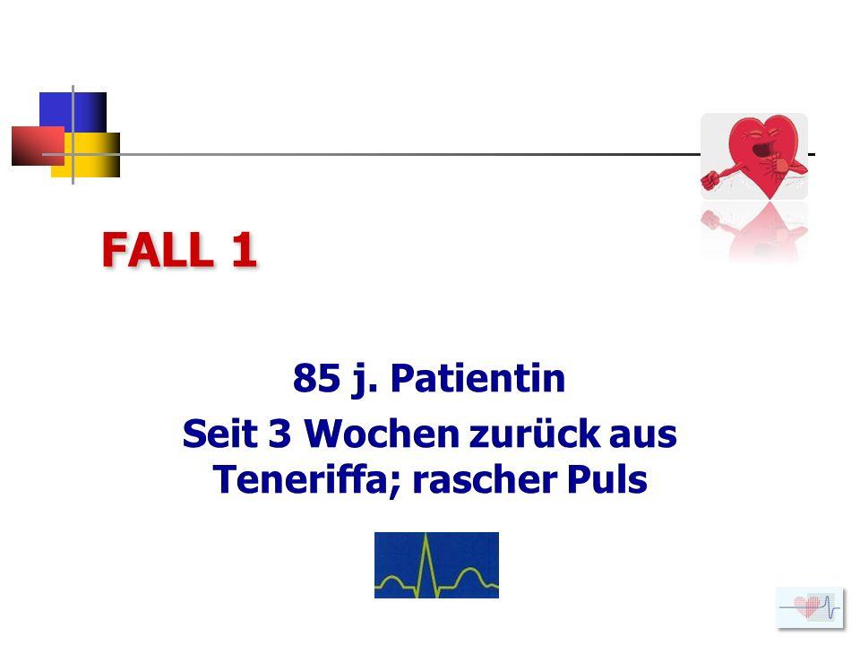 EKG Herzfrequenz: 118/min; Achse -19 Grad; unvollständiger RSB