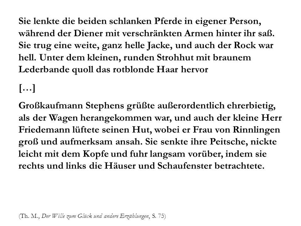 In Gerda von Rinnlingen si è voluto vedere un tipo femminile diffuso nella cultura (maschile) di fine secolo: la femme fatale.