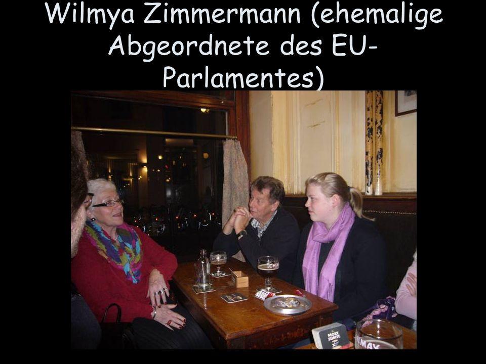 Wilmya Zimmermann (ehemalige Abgeordnete des EU- Parlamentes)