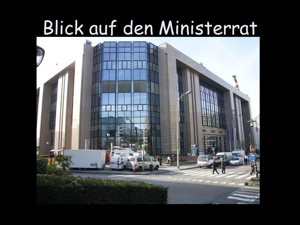 Blick auf den Ministerrat