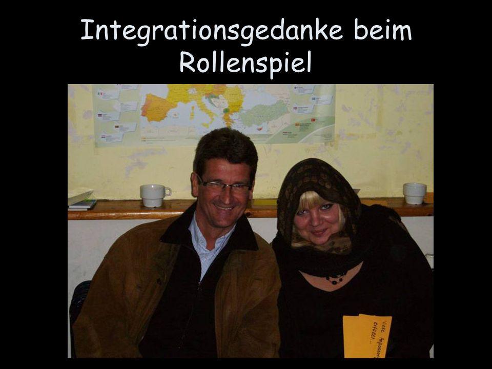 Integrationsgedanke beim Rollenspiel
