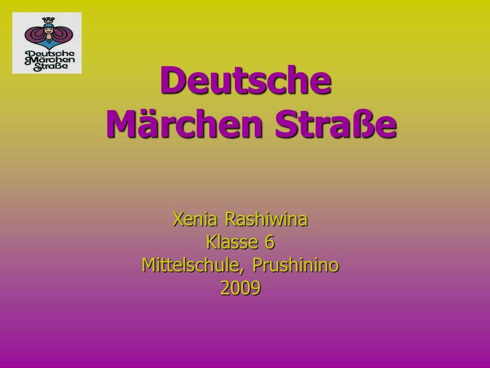 Deutsche Märchen Straße Xenia Rashiwina Klasse 6 Mittelschule, Prushinino 2009