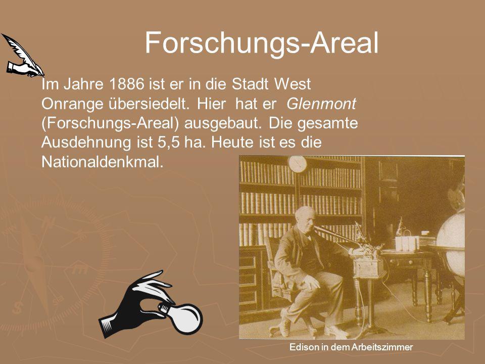 Im Jahre 1886 ist er in die Stadt West Onrange übersiedelt.