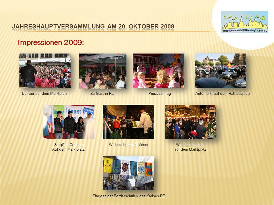 Prinzessintag 2009 – Verkaufsoffener Sonntag Veranstaltende Agentur: ODESIGN e.K.