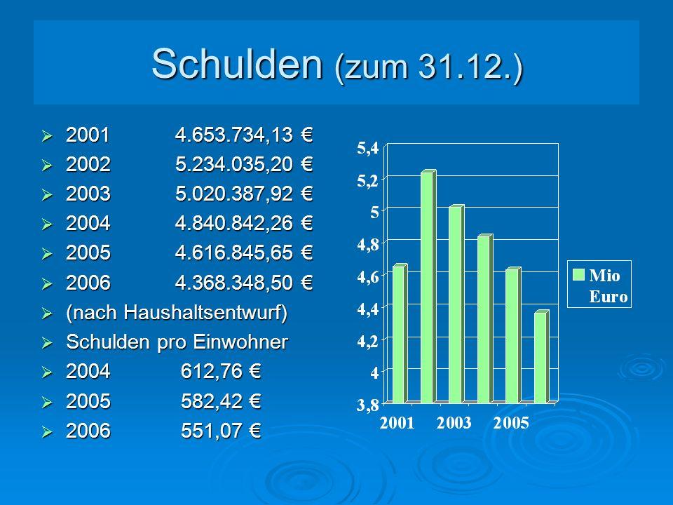 Neue Kreditaufnahme 2005 Neue Kreditaufnahme 2005 Kreisschulbaukasse Kreisschulbaukasse geplant laut Haushalt0 geplant laut Haushalt0 tatsächlich 200