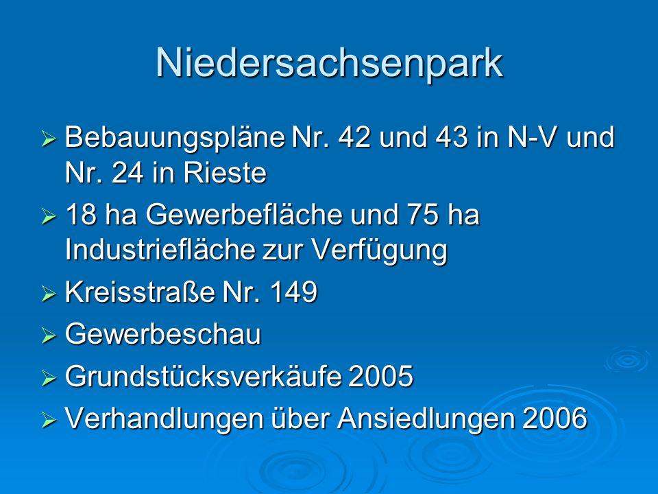 Investitionen Dorferneuerung Neuenkirchen 424.000 Dorferneuerung Neuenkirchen 424.000 Straßenbaumaßnahmen 350.000 Straßenbaumaßnahmen 350.000 Regenkan