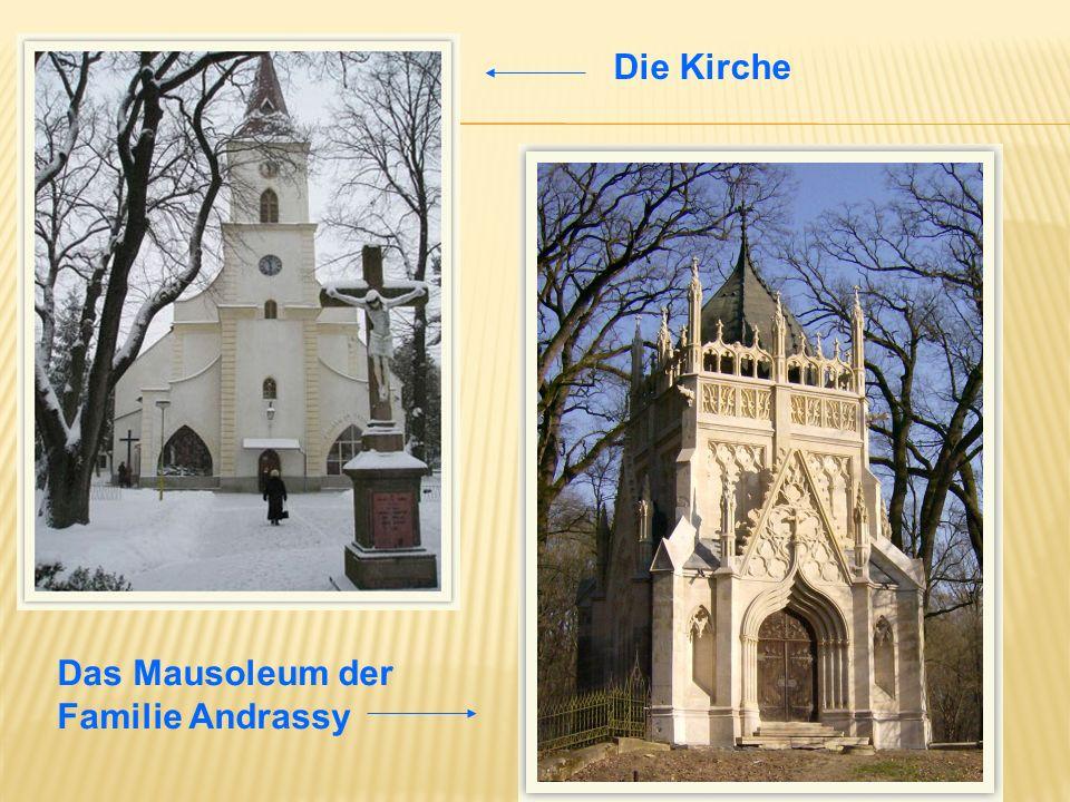 Die Kirche Das Mausoleum der Familie Andrassy