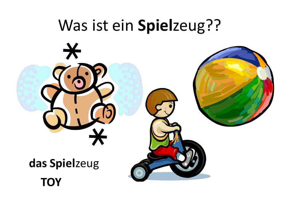 Was ist ein Spielzeug?? das Spielzeug TOY