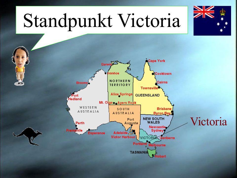Melbourne ist die Hauptstadt von Victoria, mit rund 3,2 Mio.