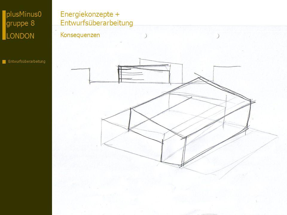 plusMinus0 gruppe 8 LONDON Entwurfsüberarbeitung Energiekonzepte + Entwurfsüberarbeitung Konsequenzen