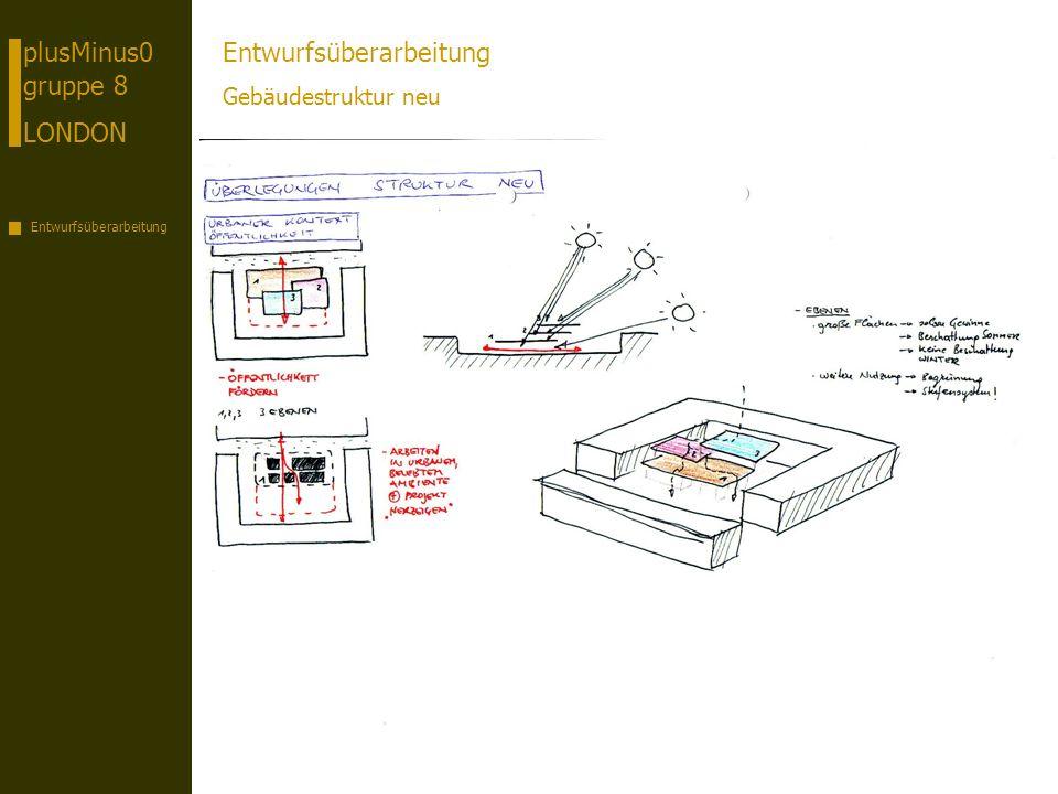 plusMinus0 gruppe 8 LONDON Entwurfsüberarbeitung Gebäudestruktur neu