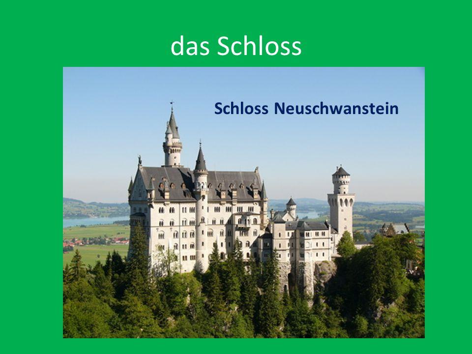 das Schloss Schloss Neuschwanstein