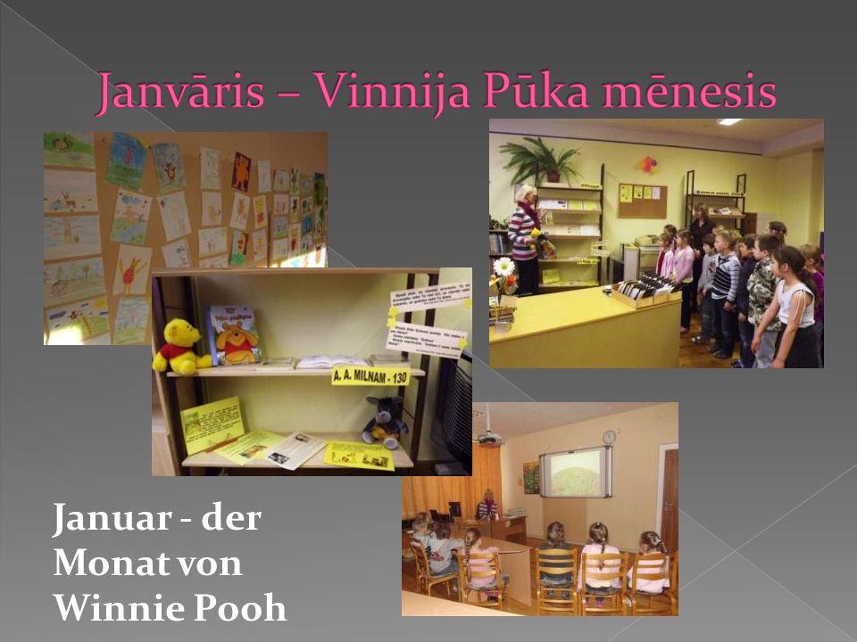 Januar - der Monat von Winnie Pooh