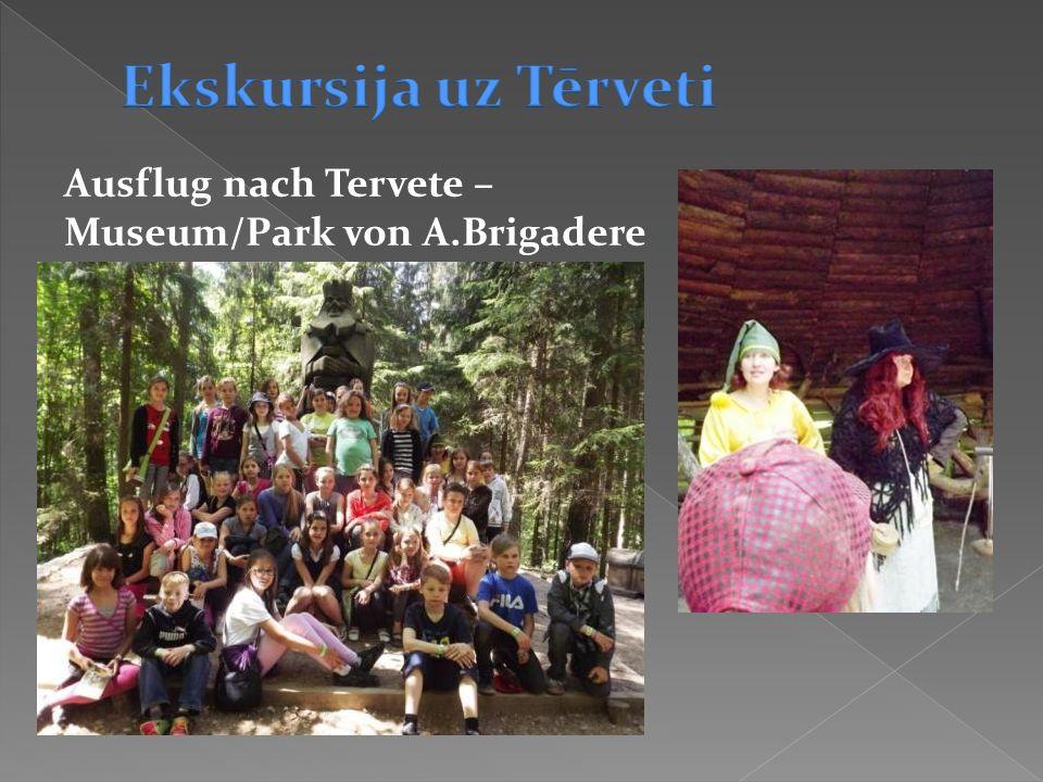 Ausflug nach Tervete – Museum/Park von A.Brigadere