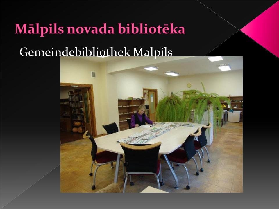 Gemeindebibliothek Malpils