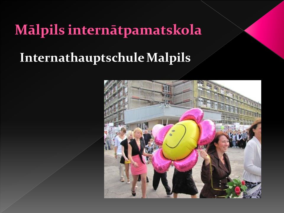 Internathauptschule Malpils