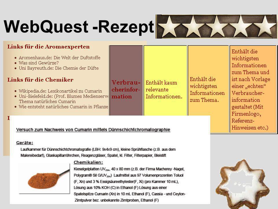 WebQuest -Rezept