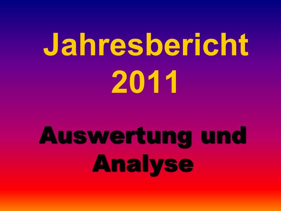 Jahresbericht 2011 Auswertung und Analyse