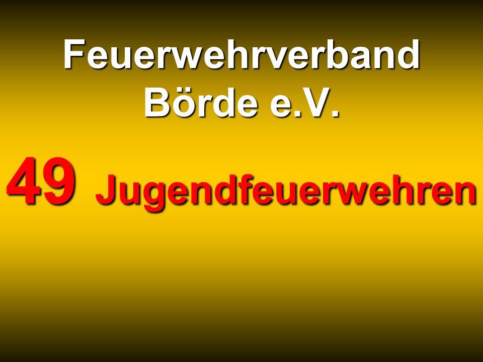 Feuerwehrverband Börde e.V. 49 Jugendfeuerwehren