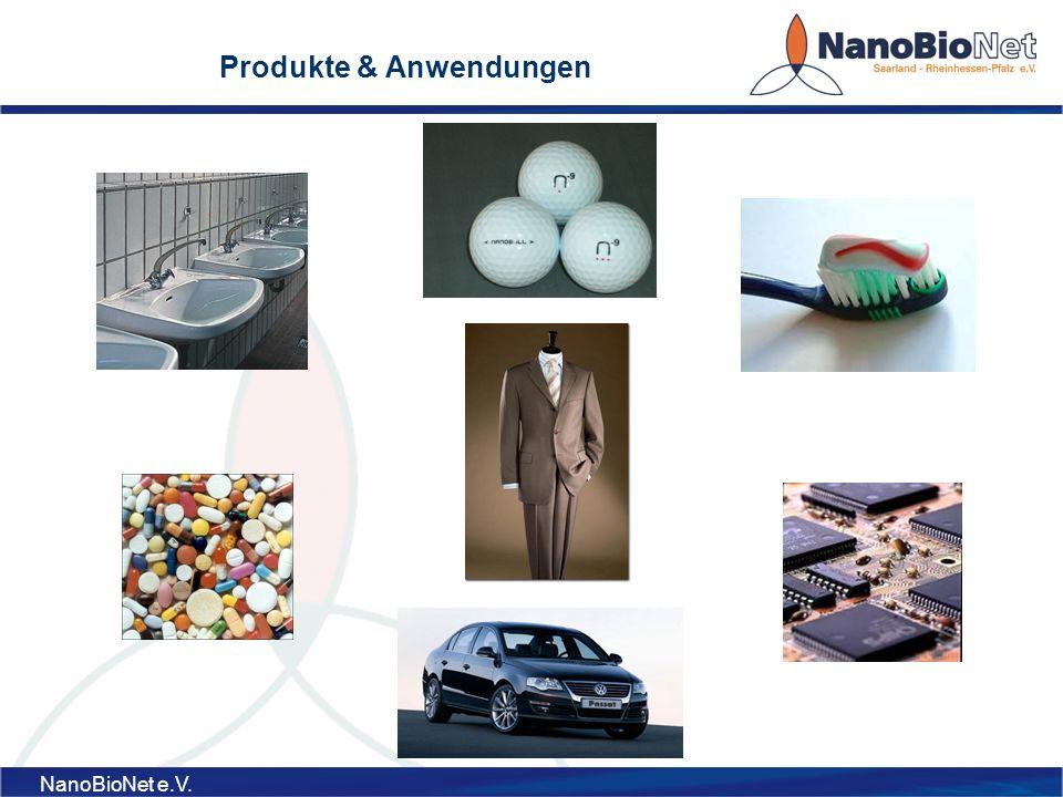 NanoBioNet e.V. Produkte & Anwendungen