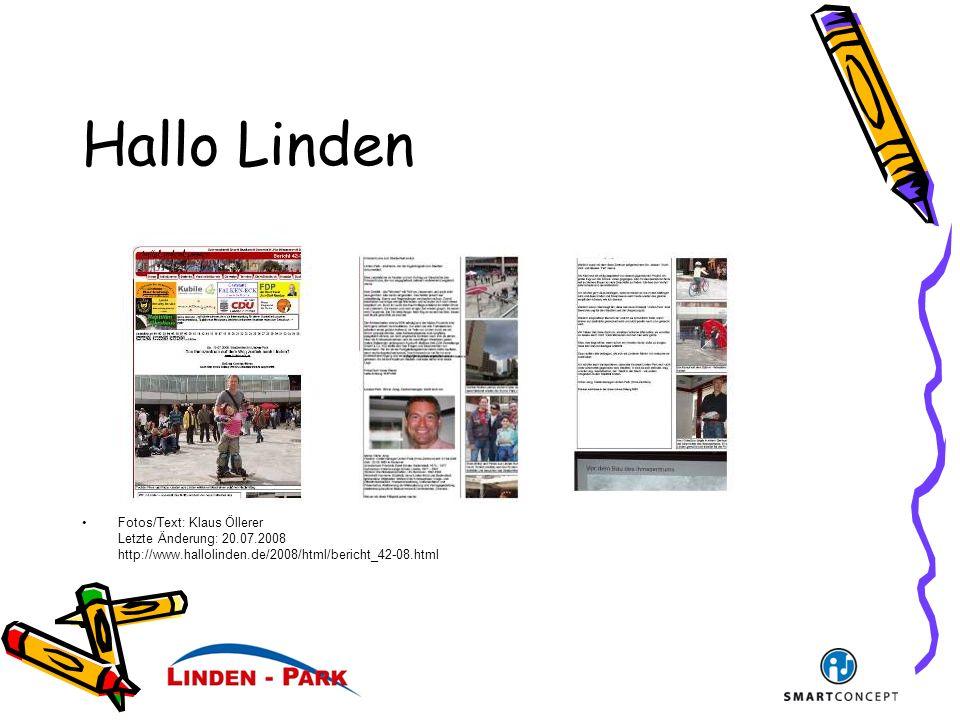 Hallo Linden Fotos/Text: Klaus Öllerer Letzte Änderung: 20.07.2008 http://www.hallolinden.de/2008/html/bericht_42-08.html