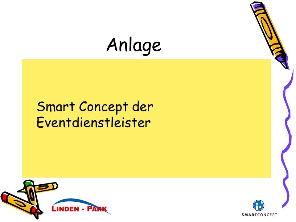 Anlage Smart Concept der Eventdienstleister