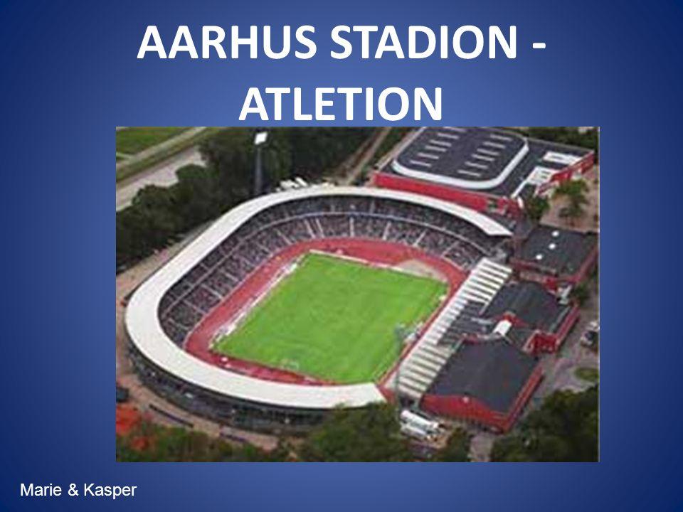 AARHUS STADION - ATLETION Marie & Kasper