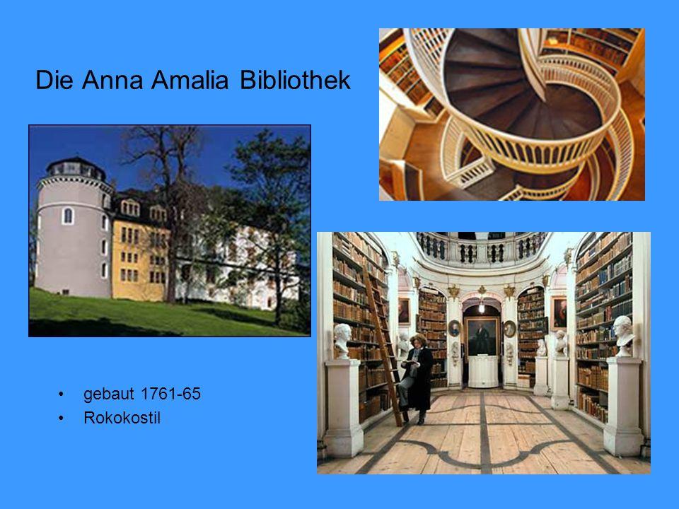 Die Anna Amalia Bibliothek gebaut 1761-65 Rokokostil