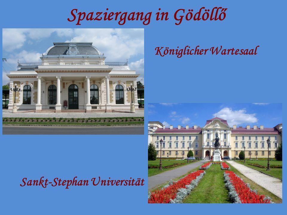 Spaziergang in Gödöllő Stadtmuseum von Gödöllő – Das Herrenhaus Hamvay Elisabethpark