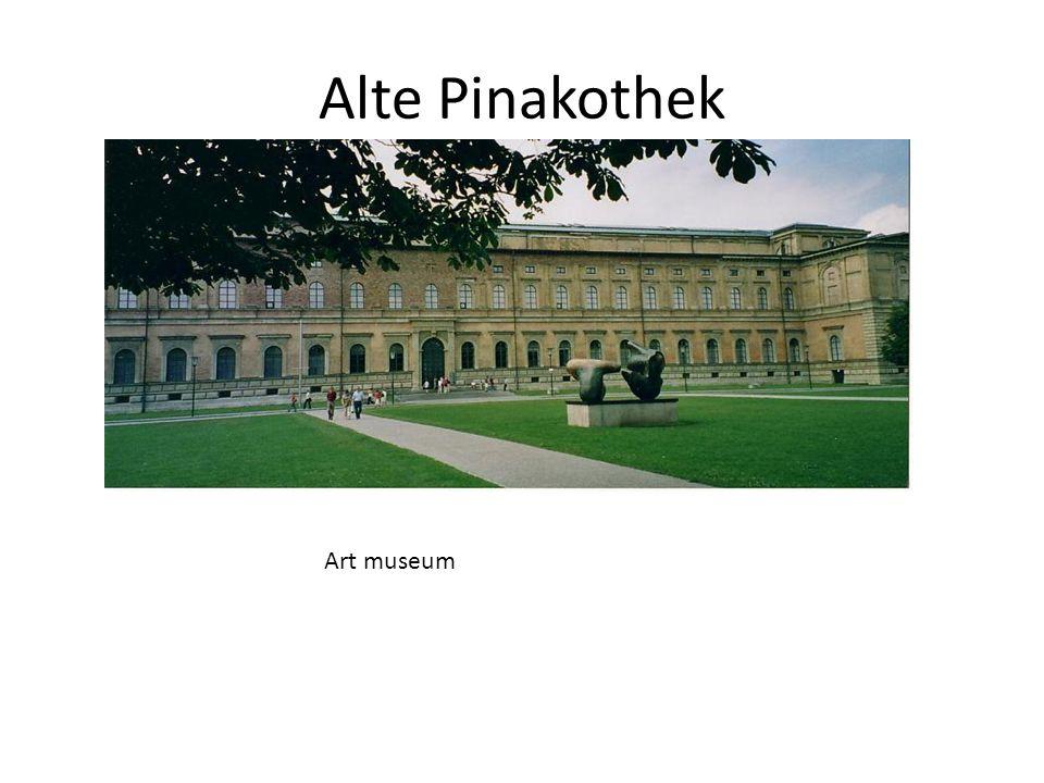 Alte Pinakothek Art museum