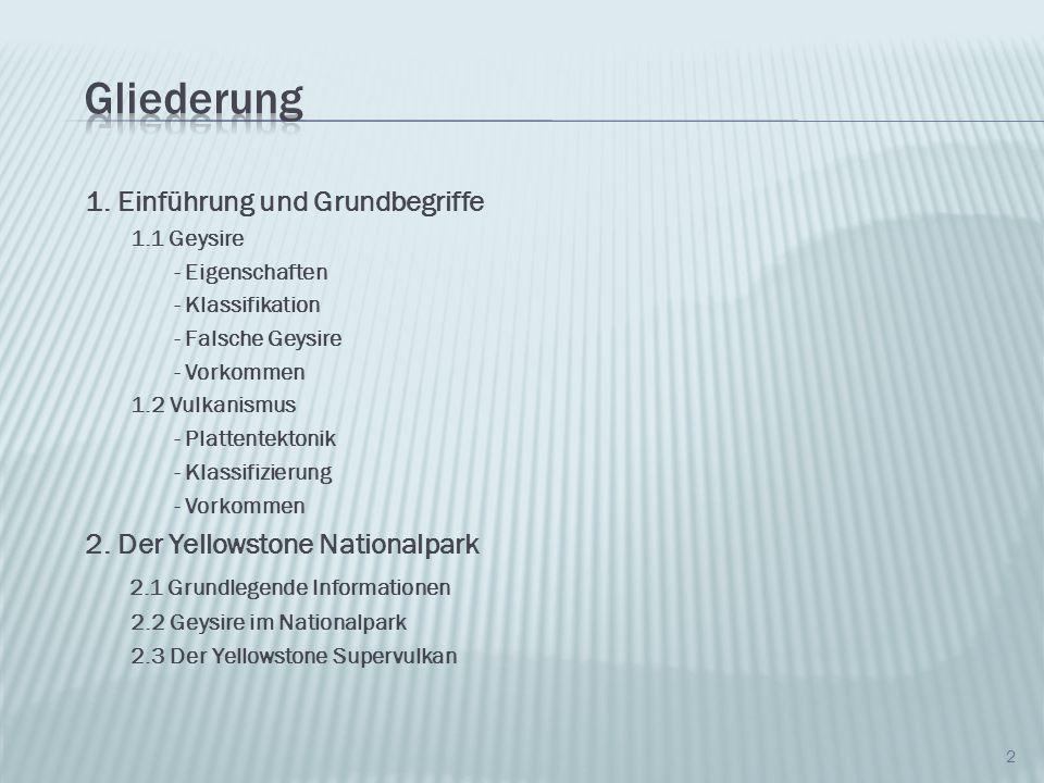 13 World Geysir distribution, Quelle: Wikipedia