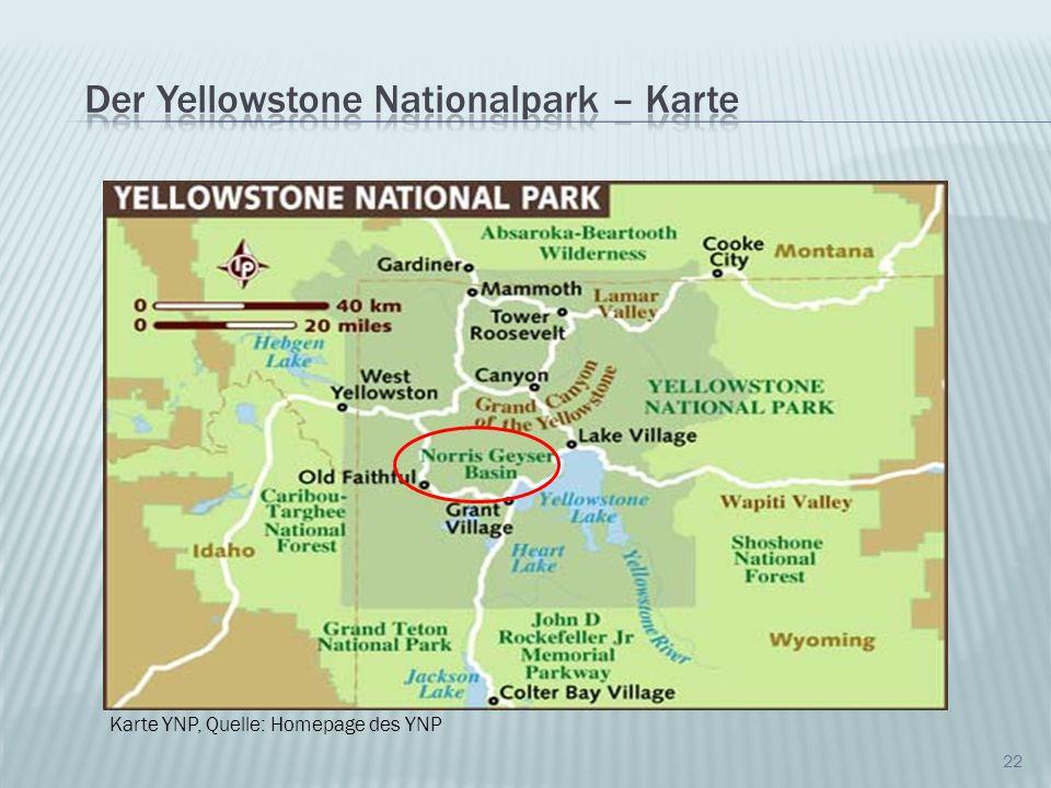 22 Karte YNP, Quelle: Homepage des YNP