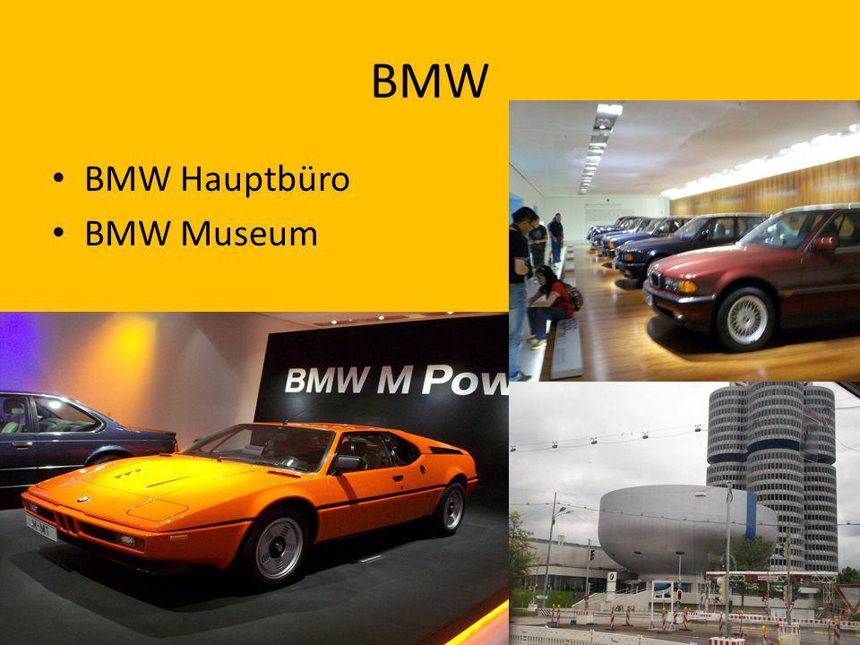 BMW BMW Hauptbüro BMW Museum
