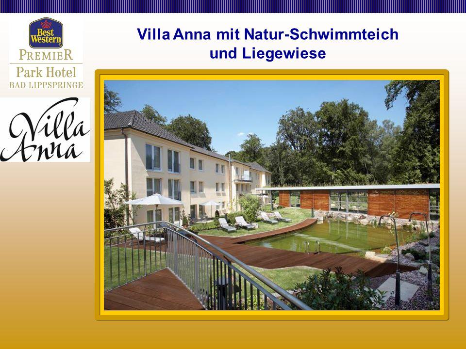 Villa Anna mit Natur-Schwimmteich und Liegewiese