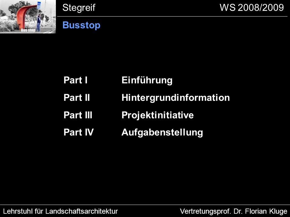 Lehrstuhl für LandschaftsarchitekturVertretungsprof.