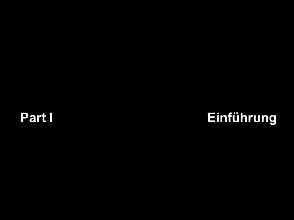 Part I Einführung