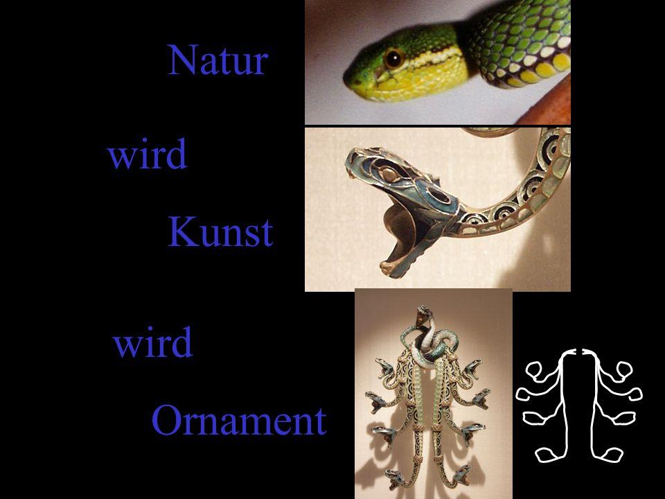 Natur wird Kunst Ornament