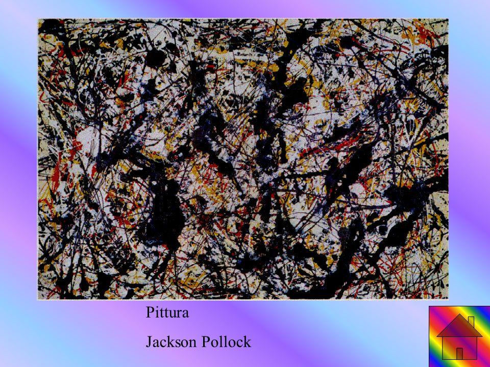 Pittura Jackson Pollock