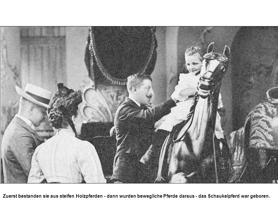 1933 wurde das Geisterschloss errichtet.