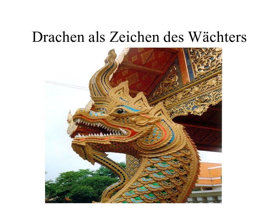 Drachen als Zeichen des Wächters