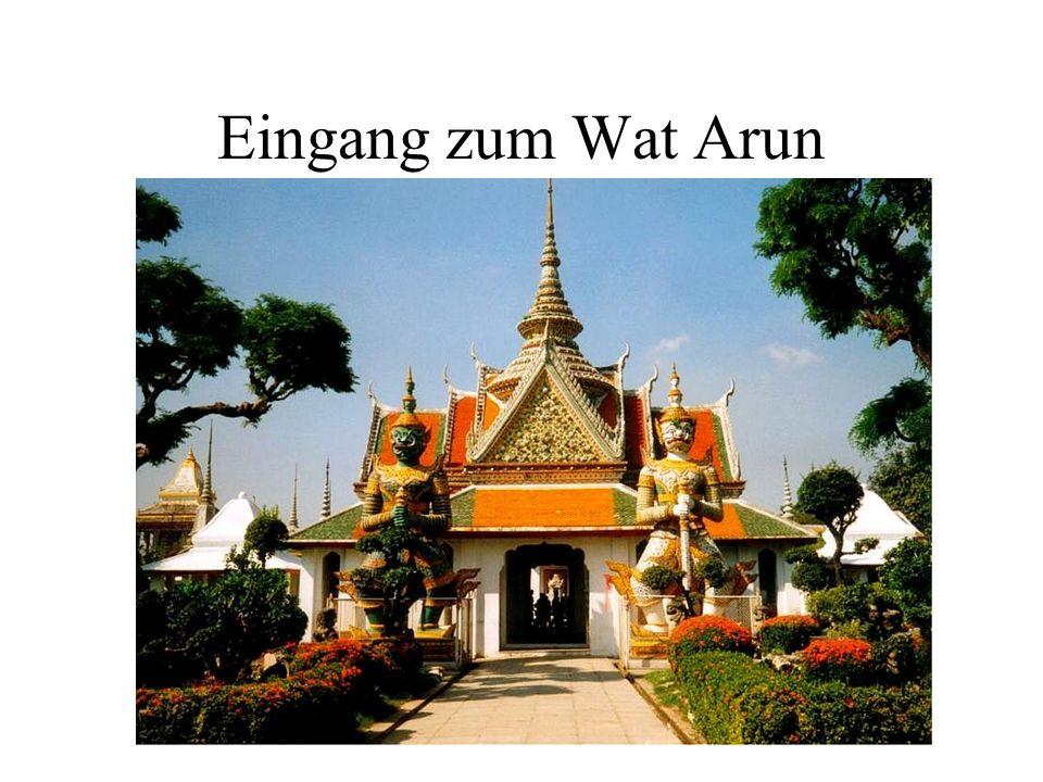 Eingang zum Wat Arun
