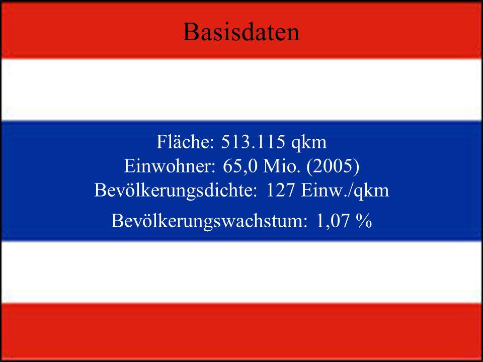Fläche: 513.115 qkm Einwohner: 65,0 Mio.