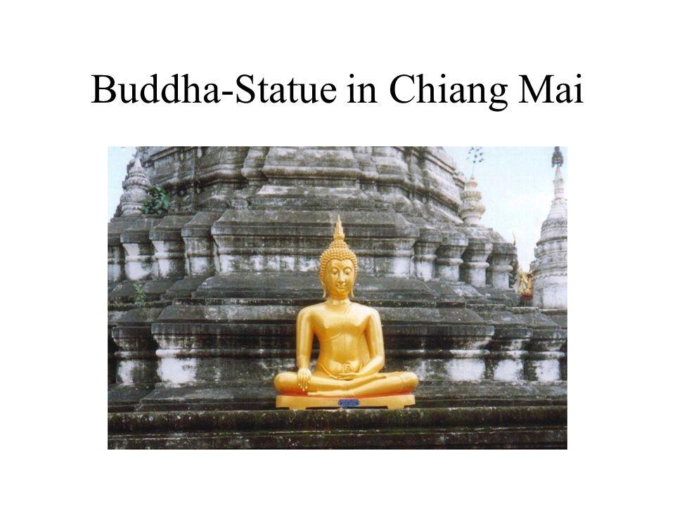 Buddha-Statue in Chiang Mai