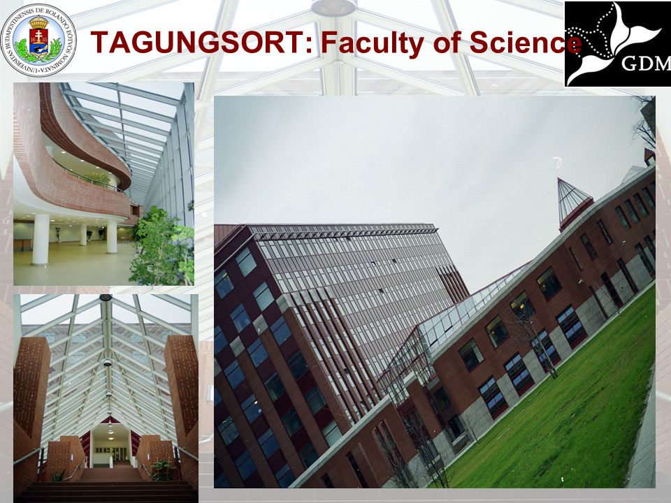TAGUNGSORT: Faculty of Science